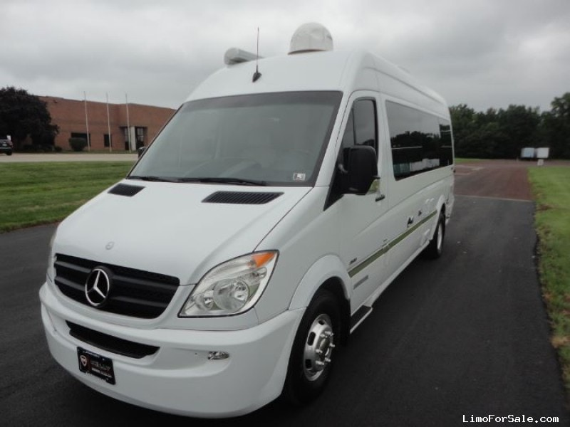 Used 2007 Mercedes Benz Sprinter Suv Stretch Limo Palm
