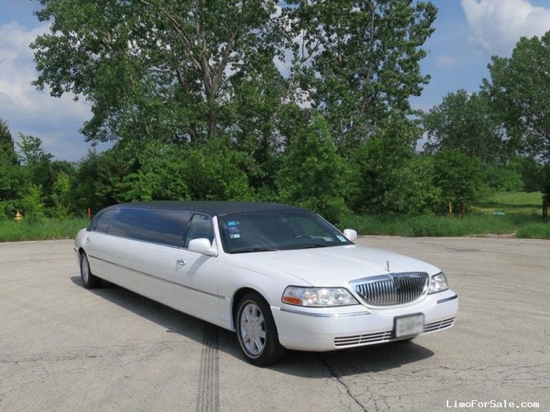 Used 2007 Lincoln Town Car Sedan Stretch Limo Tiffany Coachworks - Addison, Illinois - $13,995