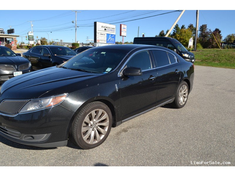 used 2013 lincoln mks sedan limo derry new hampshire 9 500 limo for sale. Black Bedroom Furniture Sets. Home Design Ideas