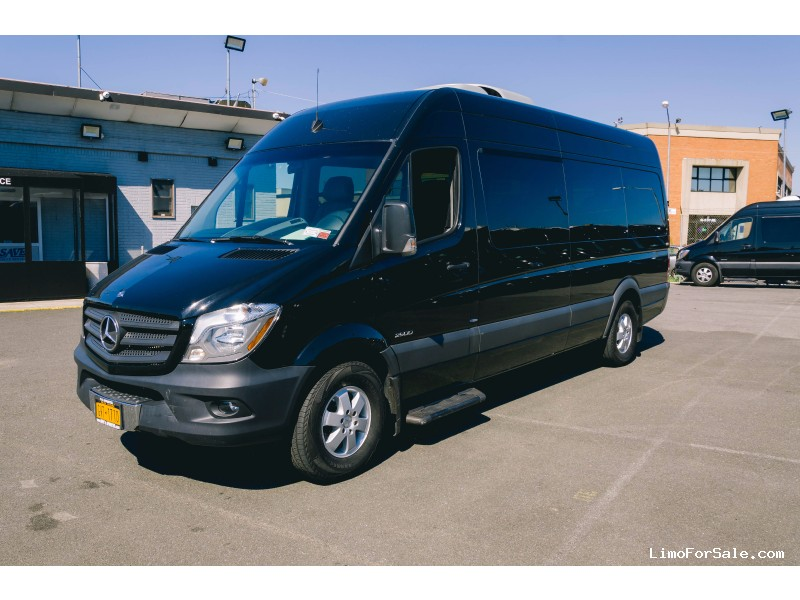 Used 2015 mercedes benz sprinter van shuttle tour east for Mercedes benz sprinter rental nyc