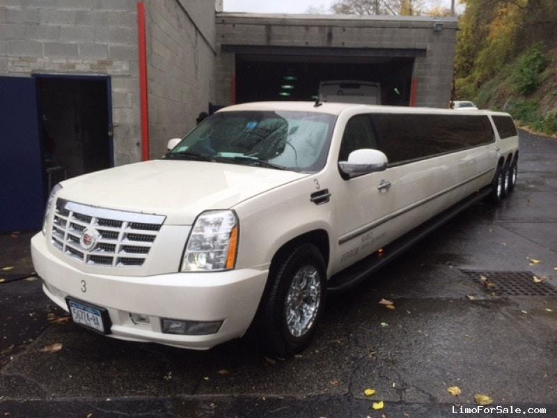 Power Wheels Cadillac Escalade >> Used 2008 Cadillac Escalade SUV Stretch Limo Nova Coach ...