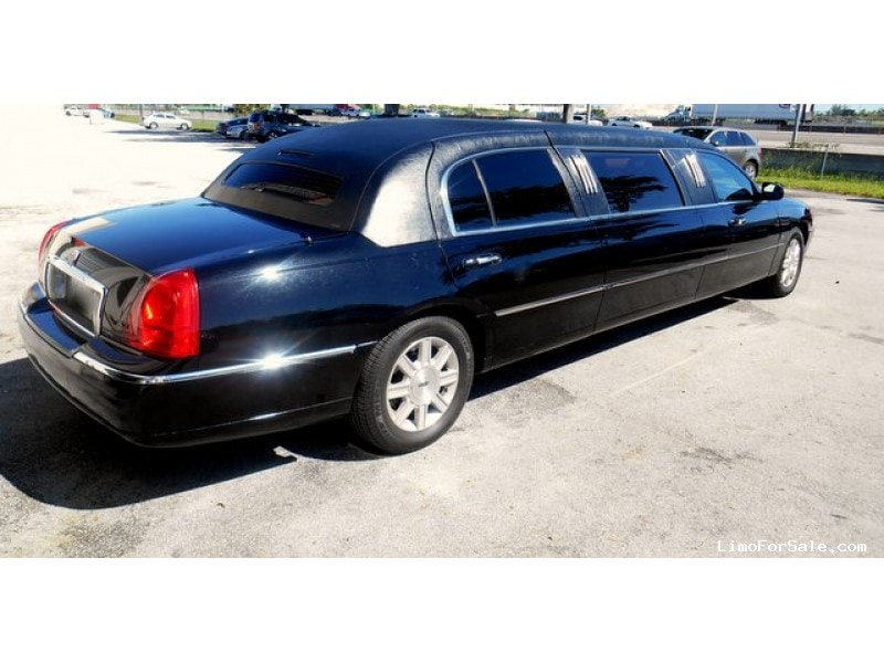 Used 2011 Lincoln Town Car Sedan Stretch Limo Lcw Ft Lauderdale