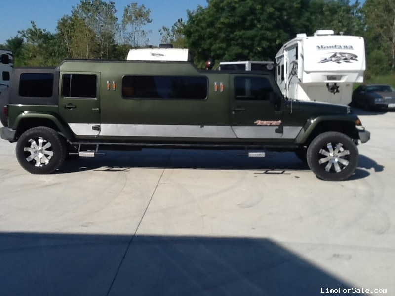 Used 2007 Jeep Wrangler SUV Stretch Limo   INDIANAPOLIS, Indiana   $16,500