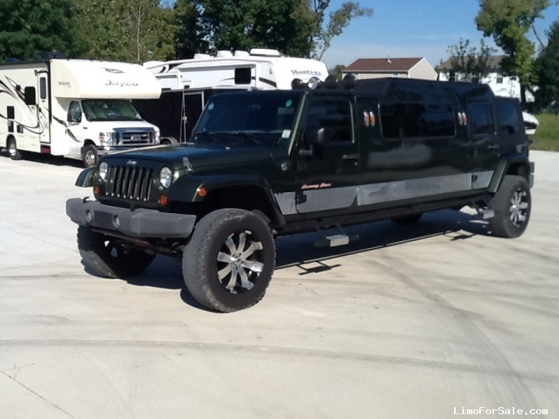 Used Jeep Wrangler Suv Stretch Limo Indianapolis Indiana