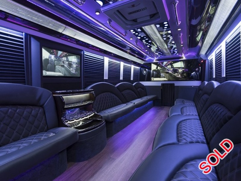 New 2016 Ford F-550 Mini Bus Limo Executive Coach Builders - Isle of Palms, South Carolina    - $128,000