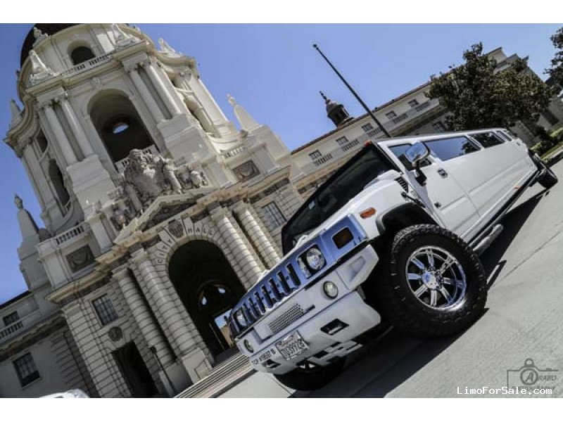 Used 2005 Hummer H2 SUV Stretch Limo  - Granada Hills, California - $33,500
