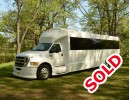 2012, Ford F-650, Motorcoach Shuttle / Tour, Tiffany Coachworks