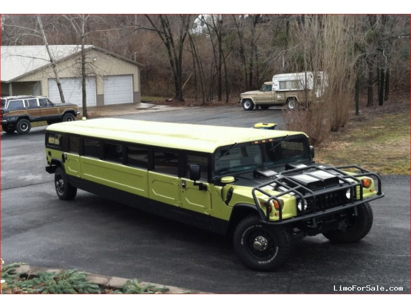 used 1997 hummer h1 suv stretch limo springfield liberty missouri 49 950 limo for sale. Black Bedroom Furniture Sets. Home Design Ideas
