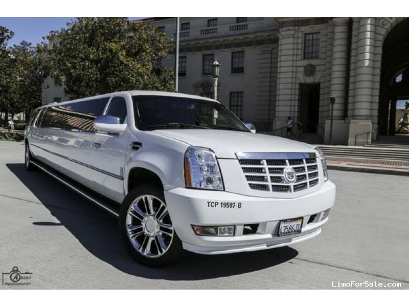 Used 2008 Cadillac Escalade SUV Stretch Limo  - Granada Hills, California - $39,500