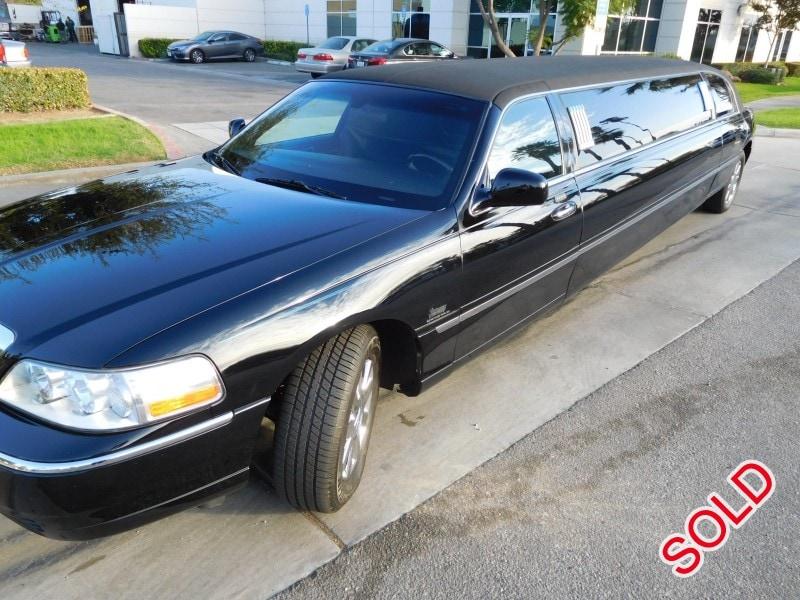 Used 2003 Lincoln Town Car Sedan Stretch Limo Krystal Anaheim