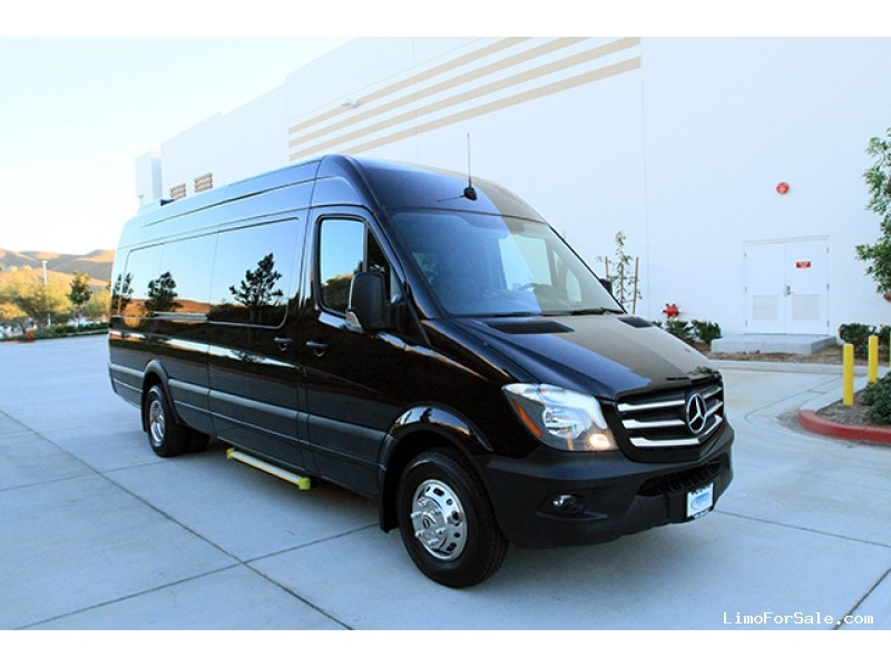 new 2017 mercedes benz sprinter mini bus shuttle tour