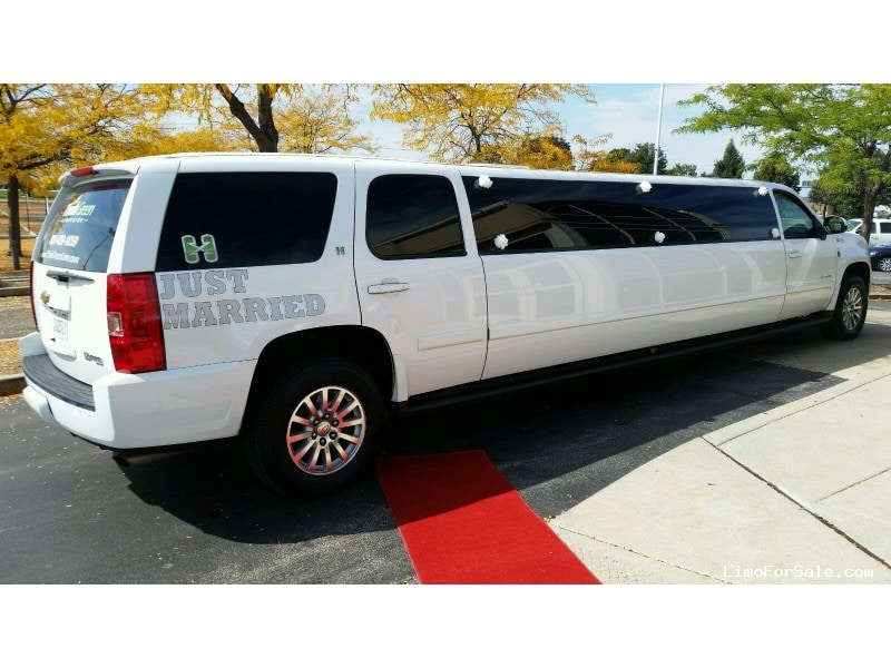Used 2008 Chevrolet Tahoe SUV Stretch Limo Lime Lite Coach Works - Naperville, Illinois - $29,900