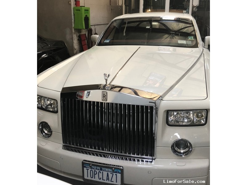 Used 2004 Rolls-Royce Phantom Sedan Limo Rolls Royce - Yonkers, New York    - $100,000