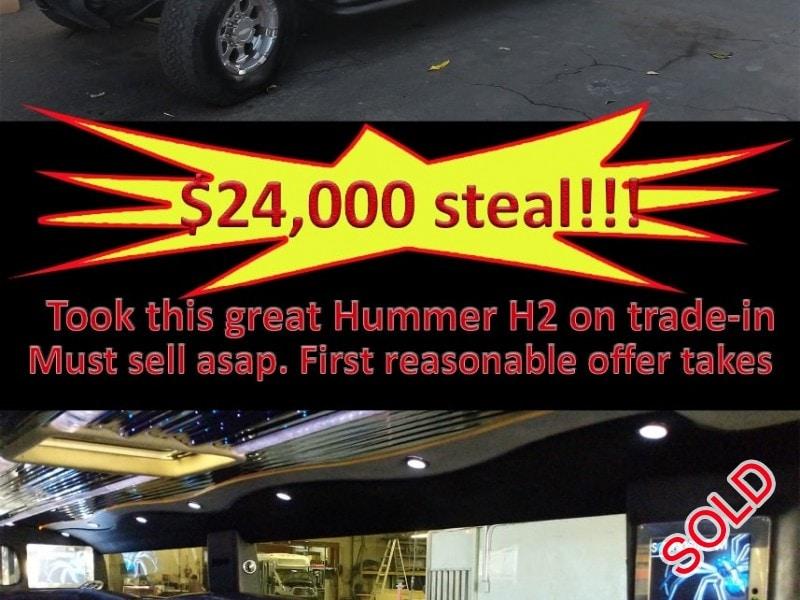Used 2005 Hummer SUV Stretch Limo Krystal - Hacienda Heights, California - $24,000