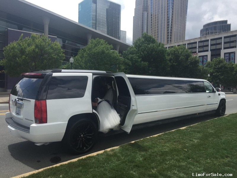 Used 2008 Cadillac SUV Limo Galaxy Coachworks - Charlotte, North Carolina    - $27,000