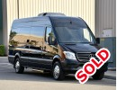2016, Mercedes-Benz Sprinter, Van Limo