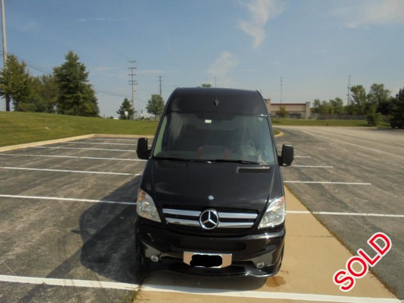 Used 2011 Mercedes-Benz Sprinter Van Limo Midwest Automotive Designs - University Park, Illinois - $52,500