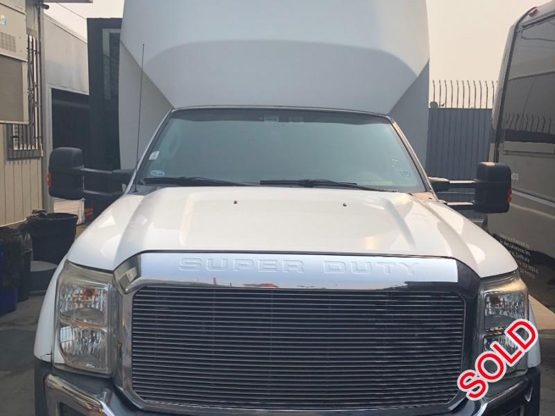 Used 2012 Ford F-550 Mini Bus Shuttle / Tour Tiffany Coachworks - Anaheim, California - $14,500