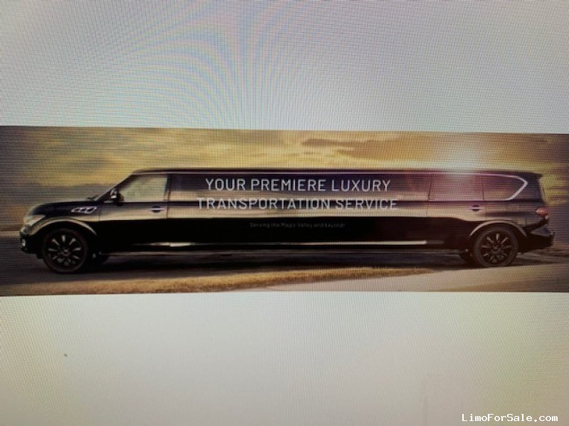 Used 2011 Infiniti QX56 SUV Stretch Limo Pinnacle Limousine Manufacturing - Twin Falls, Idaho  - $29,900