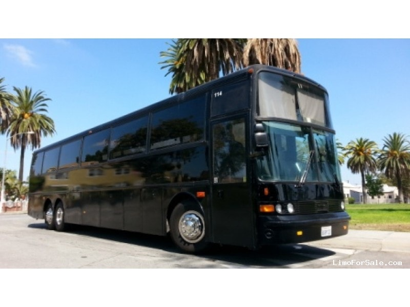 Used 1993 van hool t945 motorcoach limo oem los angeles for Motor city party bus