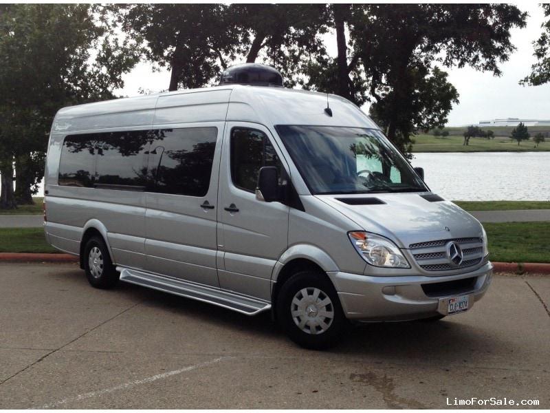 Used 2010 mercedes benz sprinter van executive shuttle for Mercedes benz dealership dallas texas
