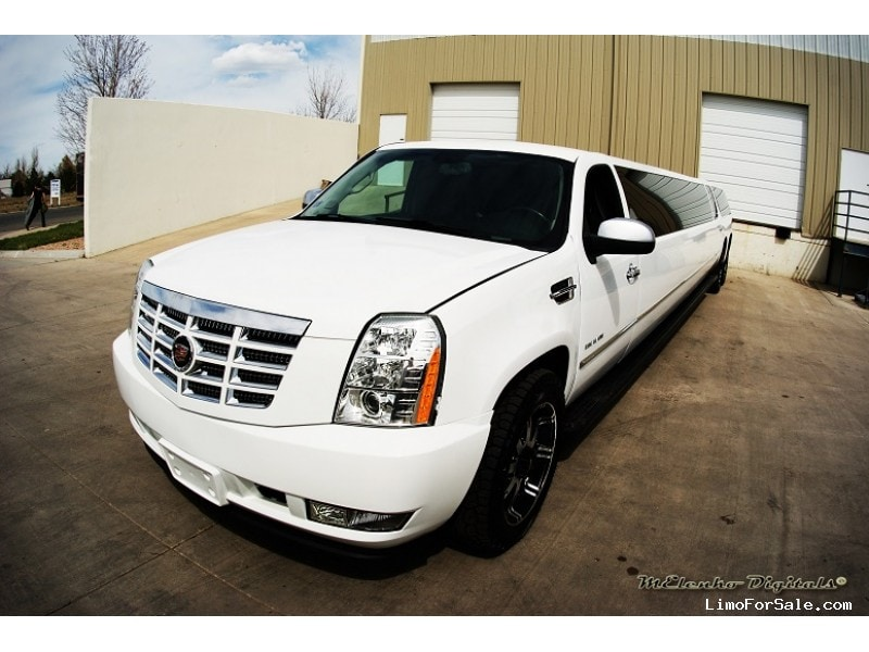 used 2008 cadillac escalade suv stretch limo american limousine sales aurora colorado. Black Bedroom Furniture Sets. Home Design Ideas