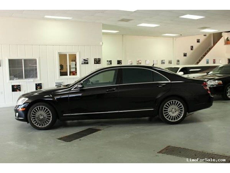 used 2007 mercedes benz s550 sedan limo los angeles california 12 800 limo for sale. Black Bedroom Furniture Sets. Home Design Ideas