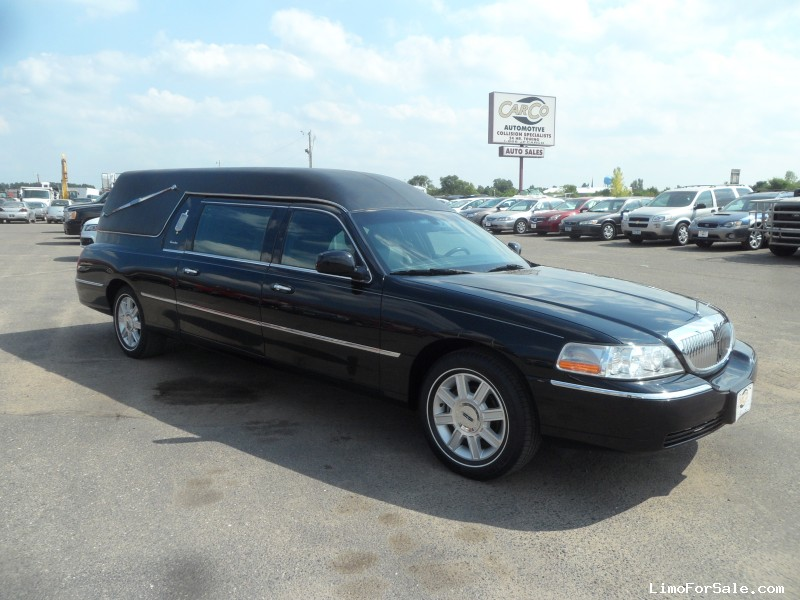 Used 2007 Lincoln Town Car Funeral Hearse Accubuilt Rice