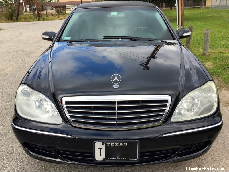 Used 2004 mercedes benz s class sedan stretch limo for Mercedes benz for sale in houston tx