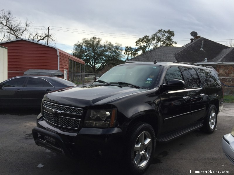 used 2008 chevrolet suburban suv limo houston texas 10 250 limo for sale. Black Bedroom Furniture Sets. Home Design Ideas