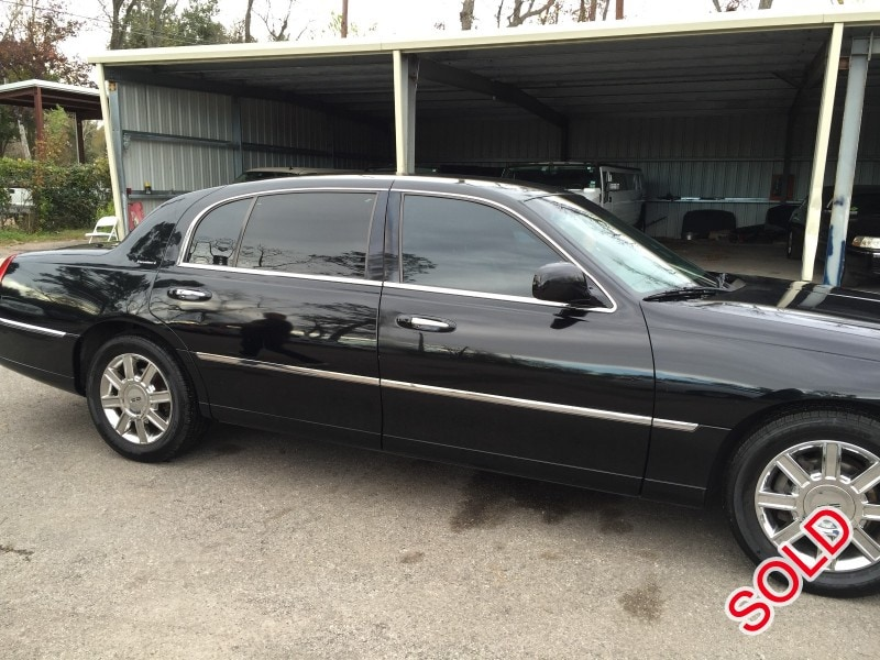 used 2007 lincoln town car l sedan limo houston texas 6 100 limo for sale. Black Bedroom Furniture Sets. Home Design Ideas
