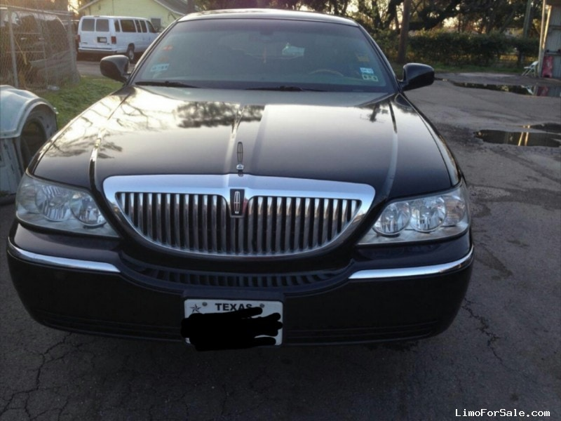 used 2008 lincoln town car l sedan limo houston texas. Black Bedroom Furniture Sets. Home Design Ideas