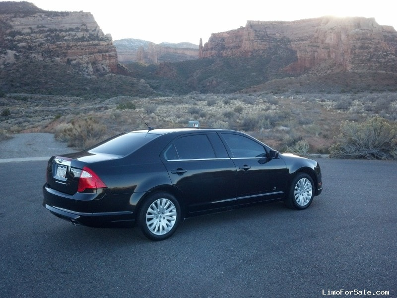 used 2010 ford fusion hybrid sedan limo royale grand junction colorado 26 000 limo for sale. Black Bedroom Furniture Sets. Home Design Ideas