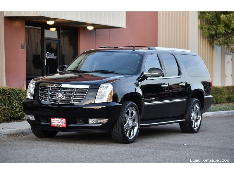 Used 2015 Cadillac Escalade >> Used 2013 Cadillac Escalade ESV SUV Limo - Fontana, California - Limo For Sale