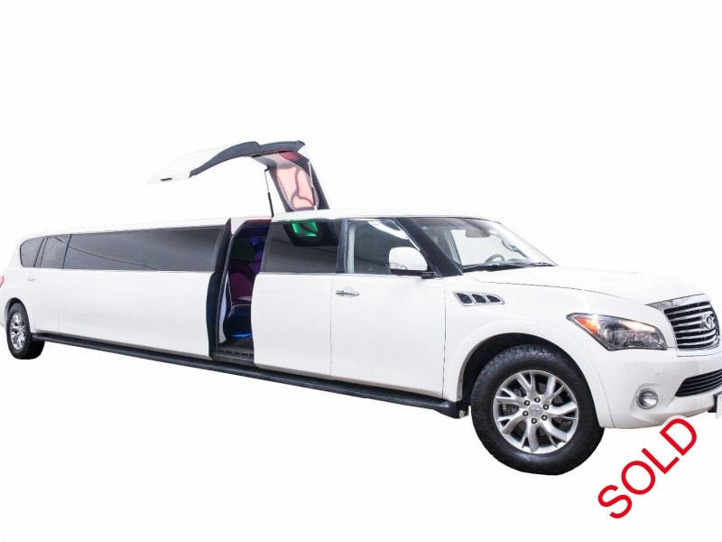 Used 2011 Infiniti QX56 SUV Stretch Limo Top Limo NY - $69,999