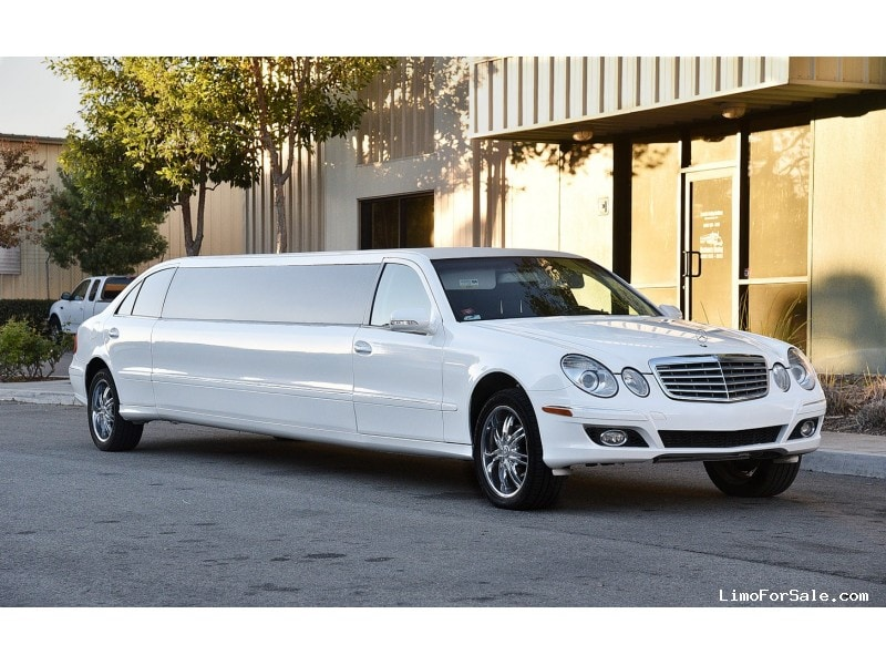 Used 2007 mercedes benz e class sedan stretch limo for Mercedes benz limo for sale