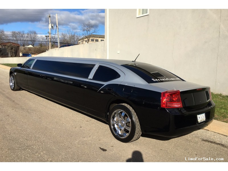 used 2008 dodge charger sedan stretch limo norristown pennsylvania 32 000 limo for sale. Black Bedroom Furniture Sets. Home Design Ideas