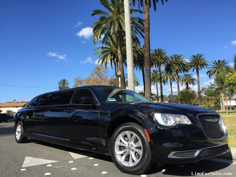 Used 2015 Chrysler 300 Sedan Stretch Limo American Limousine Sales - Los angeles, California - $58,995
