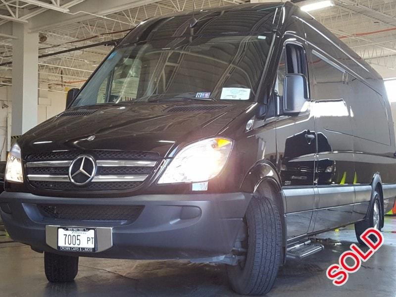 Used 2013 Mercedes-Benz Sprinter Van Shuttle / Tour Battisti Customs - Des Plaines, Illinois - $44,000