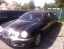 2000, Jaguar S-Type, Sedan Stretch Limo, LCW