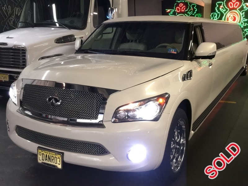 Used 2012 Infiniti QX56 SUV Stretch Limo  - Carlstadt, New Jersey    - $75,000