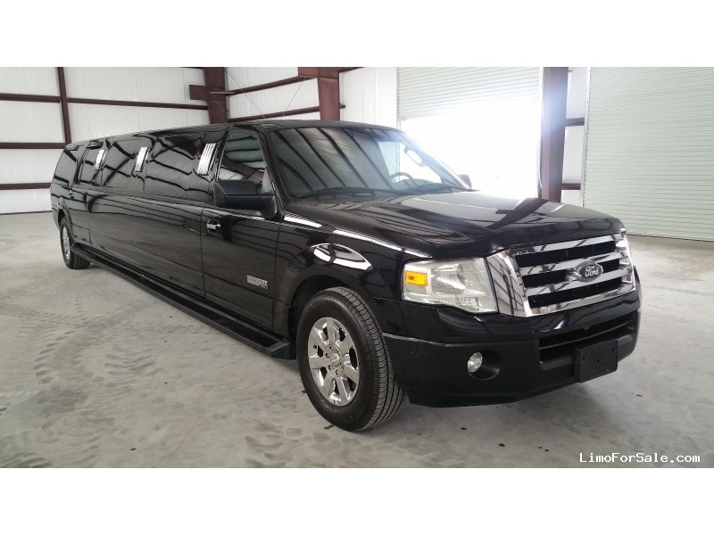 used 2007 ford expedition xlt suv stretch limo dabryan cypress texas 16 500 limo for sale. Black Bedroom Furniture Sets. Home Design Ideas