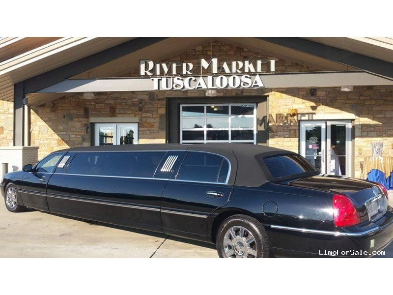 used 2007 lincoln town car l sedan stretch limo krystal tuscaloosa alabama 13 500 limo. Black Bedroom Furniture Sets. Home Design Ideas
