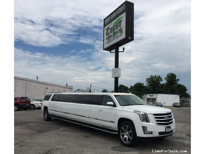New 2016 Cadillac Escalade SUV Stretch Limo Pinnacle Limousine Manufacturing - Glen Burnie, Maryland - $107,000