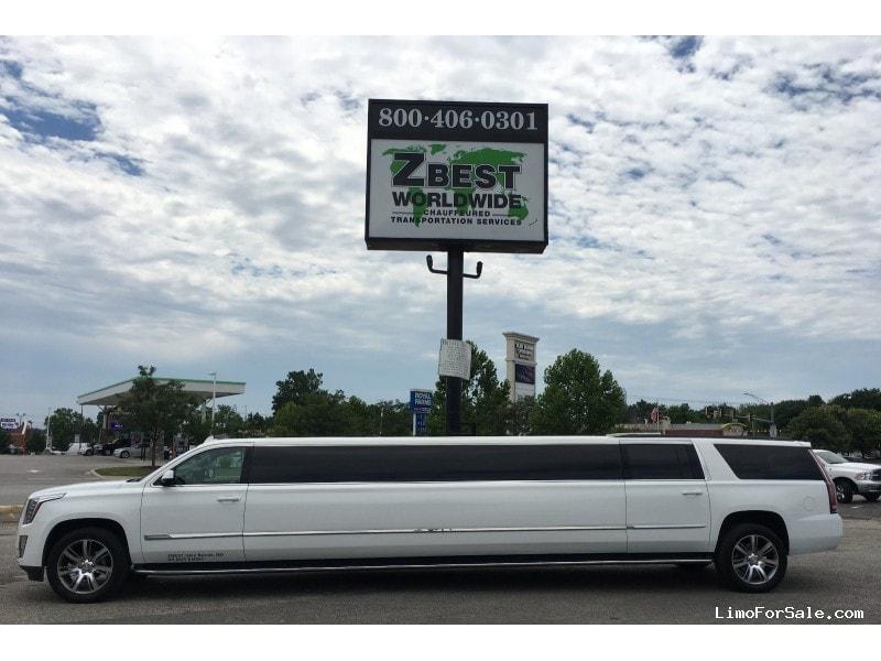 New 2016 Cadillac Escalade SUV Stretch Limo Pinnacle Limousine Manufacturing - Glen Burnie, Maryland - $118,000