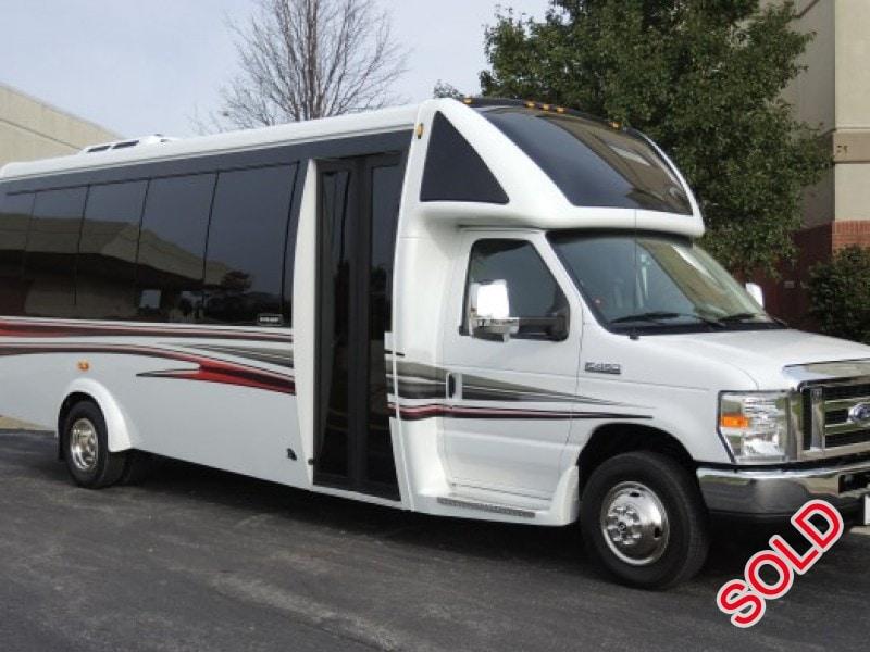 New 2017 Ford E 450 Mini Bus Shuttle Tour Embassy Bus