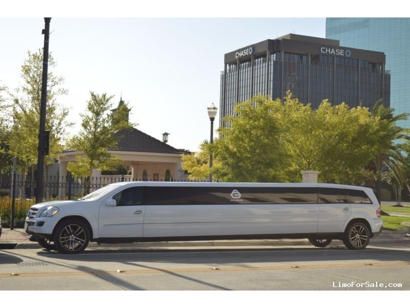 Used 2007 mercedes benz gl class suv stretch limo north for Mercedes benz north palm beach fl