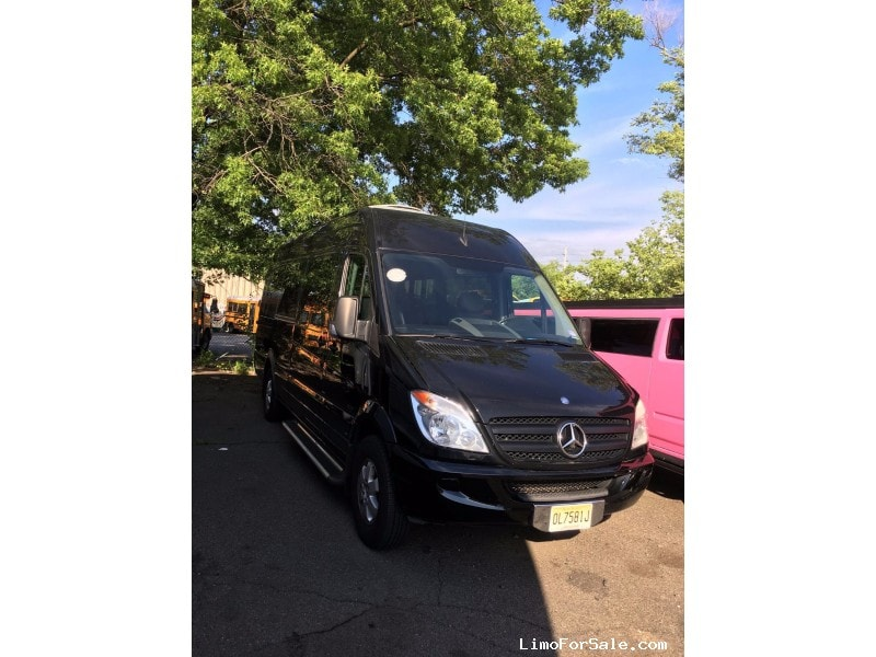 Used 2012 Mercedes-Benz Sprinter Van Shuttle / Tour Executive Coach Builders - TOTOWA, New Jersey    - $32,900