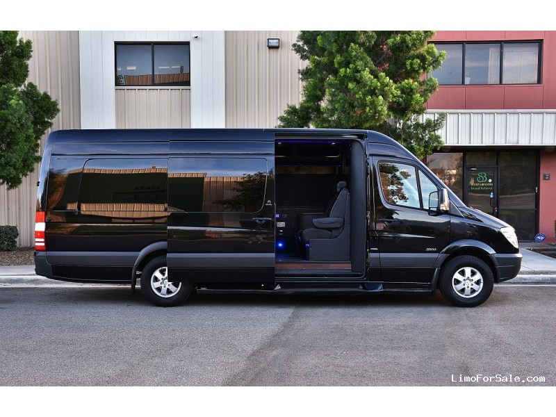 Used 2013 mercedes benz sprinter van limo battisti customs for Mercedes benz fontana ca