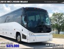 2015, MCI, Motorcoach Shuttle / Tour